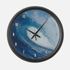 OCEAN WAVE 2 Large Wall Clock