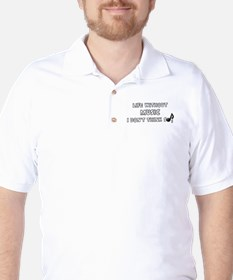 LIFE WITHOUT MUSIC - I DON'T THINK SO. Golf Shirt