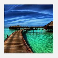MALDIVES 2 Tile Coaster