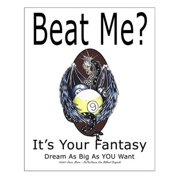 Beat Me Dragon Fantasy Small Poster