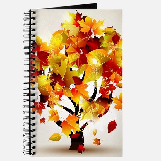 Autumn Tree Journal