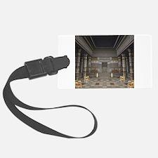 Ancient Egyptian Hall Luggage Tag