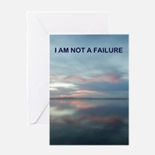I Am Not A Failure Greeting Cards