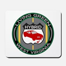 Living Green Hybrid West Virginia Mousepad