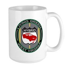 Living Green Hybrid West Virginia Mug