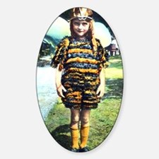 1920s Child in Bee costume Decal