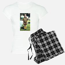 1920s Child in Bee costume Pajamas