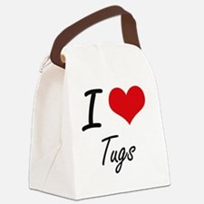 I love Tugs Canvas Lunch Bag