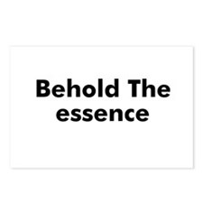 Behold The essence Postcards (Package of 8)
