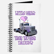 Little Girls Love Their Trucker Daddys Journal