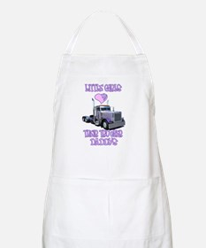 Little Girls Love Their Trucker Daddys BBQ Apron