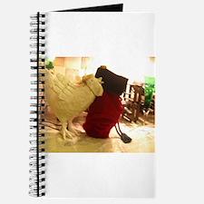 tabletop sheep and bag Journal