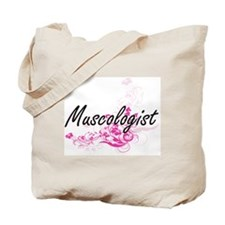 Muscologist Artistic Job Design with Flow Tote Bag