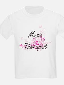 Music Therapist Artistic Job De T-Shirt