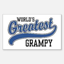 World's Greatest Grampy Decal