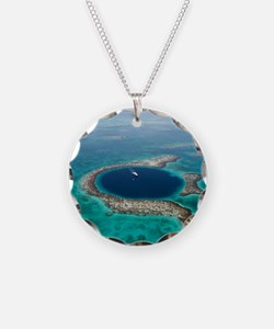 GREAT BLUE HOLE 1 Necklace