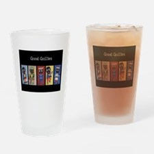 Gollies at Work & Play Drinking Glass