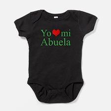 Cute Spanish grandma Baby Bodysuit