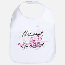 Network Specialist Artistic Job Design with Fl Bib