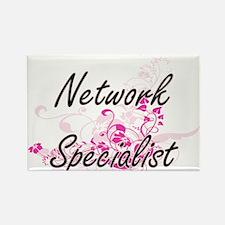 Network Specialist Artistic Job Design wit Magnets