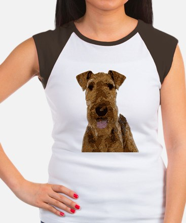 Airedale Painted T-Shirt