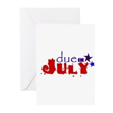Due in July Greeting Cards (Pk of 10)