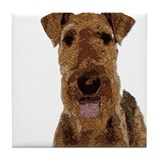Airedale Tile Coasters