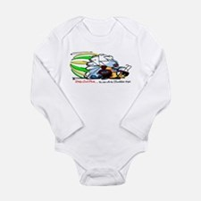 Funny Dodge super bee Long Sleeve Infant Bodysuit