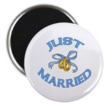 Pretty Just Married Magnet