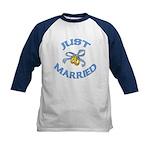 Pretty Just Married Kids Baseball Jersey
