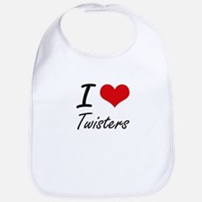 I love Twisters Bib