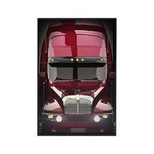Heavy Truck Rectangle Magnet