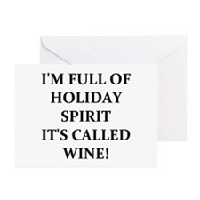 WINE! Greeting Cards (Pk of 20)