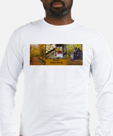 Quebec Maple Syrup Long Sleeve T-Shirt