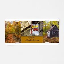 Quebec Maple Syrup Aluminum License Plate