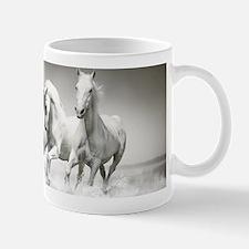 Wild White Horses Mug