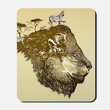 Lion Savanna Mousepad