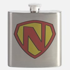 Funny Super hero Flask