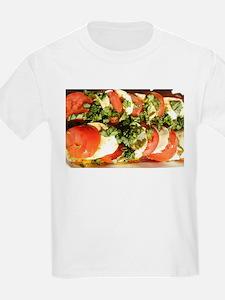 tomato and mozzarella T-Shirt