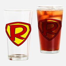 Unique Super hero Drinking Glass