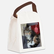 COMFY KITTY Canvas Lunch Bag