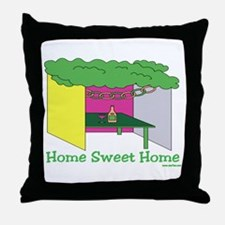Succos Home Sweet Home Throw Pillow
