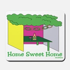Succos Home Sweet Home Mousepad