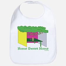 Succos Home Sweet Home Bib