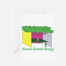 Succos Home Sweet Home Greeting Card