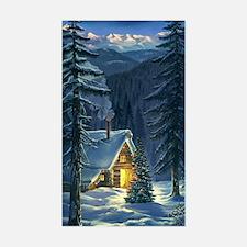 Christmas Snow Landscape Decal