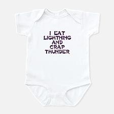 eat lightning Infant Bodysuit