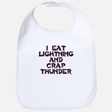 eat lightning Bib