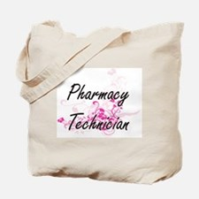 Pharmacy Technician Artistic Job Design w Tote Bag