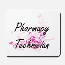 Pharmacy Technician Artistic Job Design Mousepad